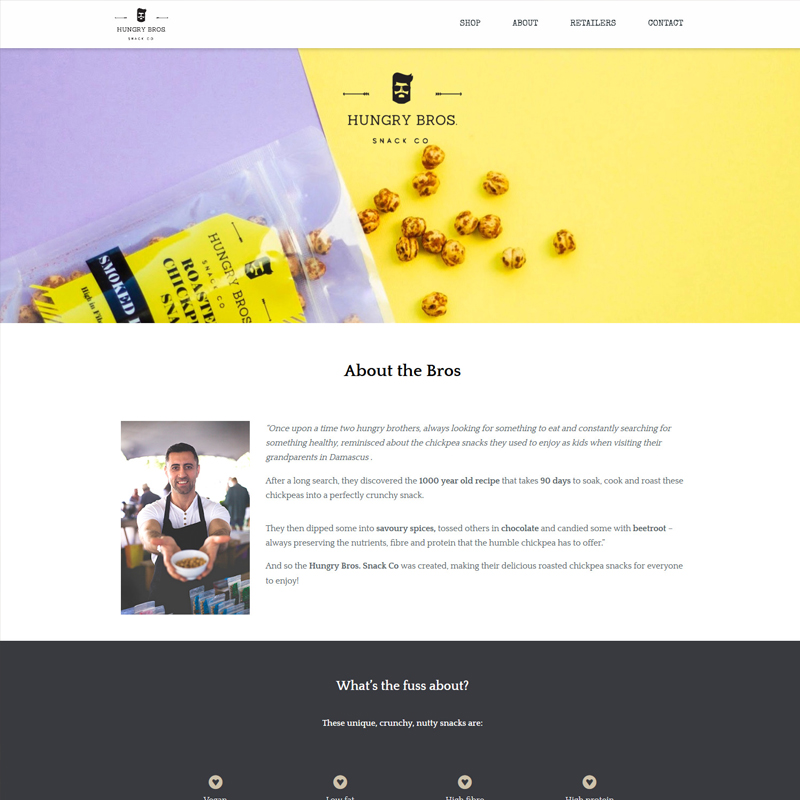 Hungry Brothers Website